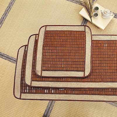 格藍傢飾 和井驅蚊防蹣麻將竹二人坐墊55x110