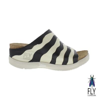 Fly-London-女-Wynt-雙層波浪真牛低