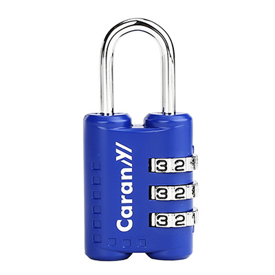 CARANY卡拉羊 三碼式密碼鎖多功能用途設計 (藍色) 58-0034