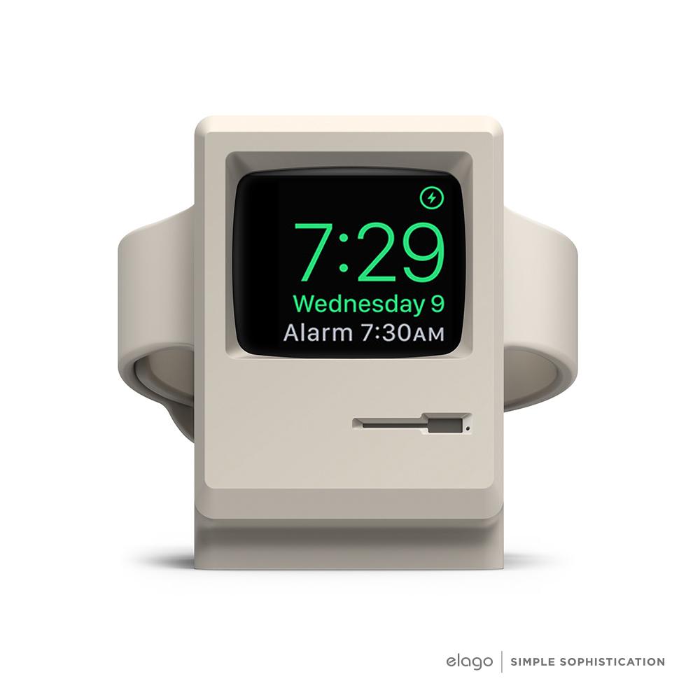 Elago Apple Watch W3賈伯斯Mac造型充電支架-限量紀念款