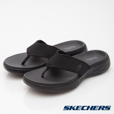 SKECHERS(男)休閒系列ON THE GO CITY600拖鞋-55350BBK