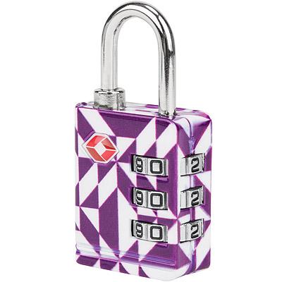 TRAVELON TSA三碼防盜密碼鎖(紫晶)