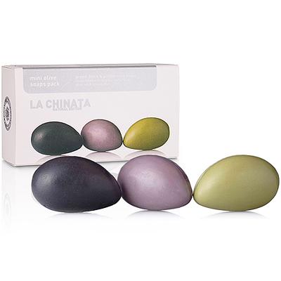 LA CHINATA 純淨天然橄欖精華果皂 (迷你3件組)
