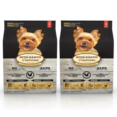 Oven-Baked烘焙客 減肥犬老犬 雞肉口味 低溫烘焙 非吃不可 1公斤 X 2包