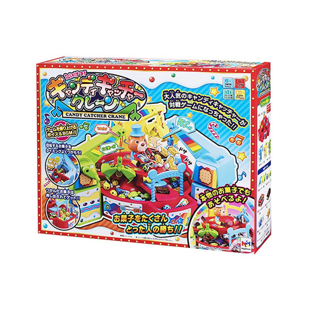 MEGAHOUSE 桌遊團康 益智玩具 電動聲光桌上型夾糖果機 糖果抓抓樂 附中文說明書