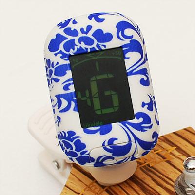 Kalani 烏克麗麗 5合1多功能雙色冷光調音器(深藍花)
