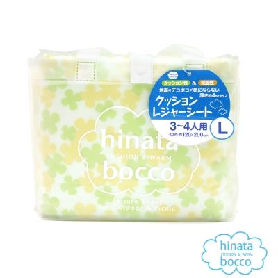 日本防水易清洗野餐墊 3-4人-黃色小花