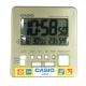 CASIO 全方位溫濕度感應數位鬧鐘(DQ-981-9D)香檳金面 product thumbnail 1