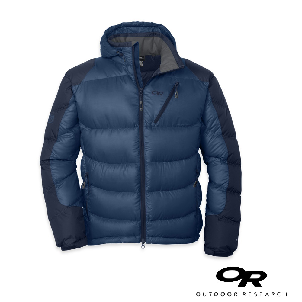 【Outdoor Research】男新款 VIRTUOSO 抗風保暖鵝絨外套_藍