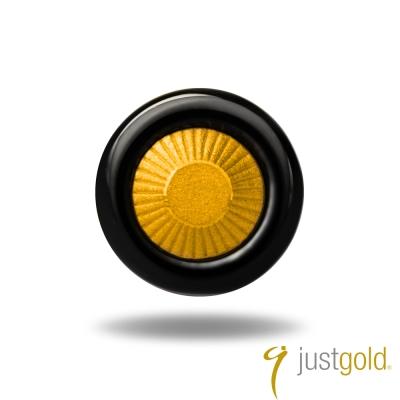 鎮金店Just Gold 黃金單耳耳環- Day & Night 日與夜-黑