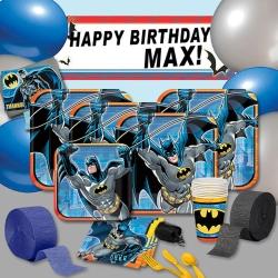 派對盒 PartyBox 生日派對懶人包 蝙蝠俠主題 8人豪華派對盒