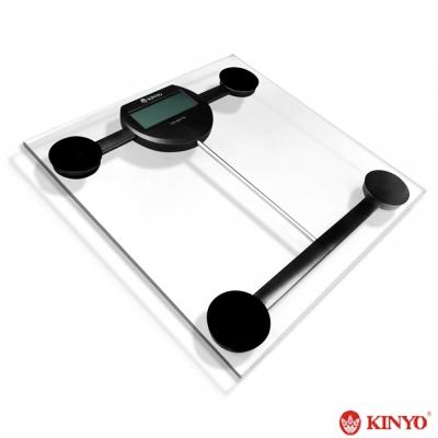 KINYO 晶透電子體重計(DS-6576)