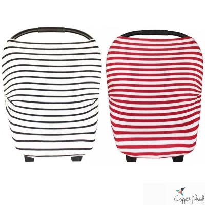 Copper Pearl 美國 細條紋系列哺乳巾/座椅套 多功能二用款