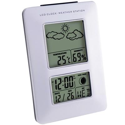趣味天氣圖多功萬年曆電子鐘