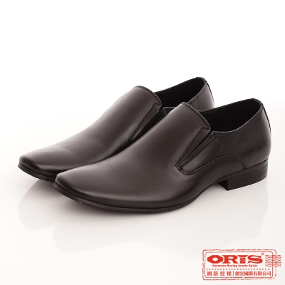 ORIS 男 時尚簡約風格紳士皮鞋~黑