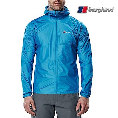 【Berghaus貝豪斯】男款Hydroshell防水透氣外套S02M52-藍