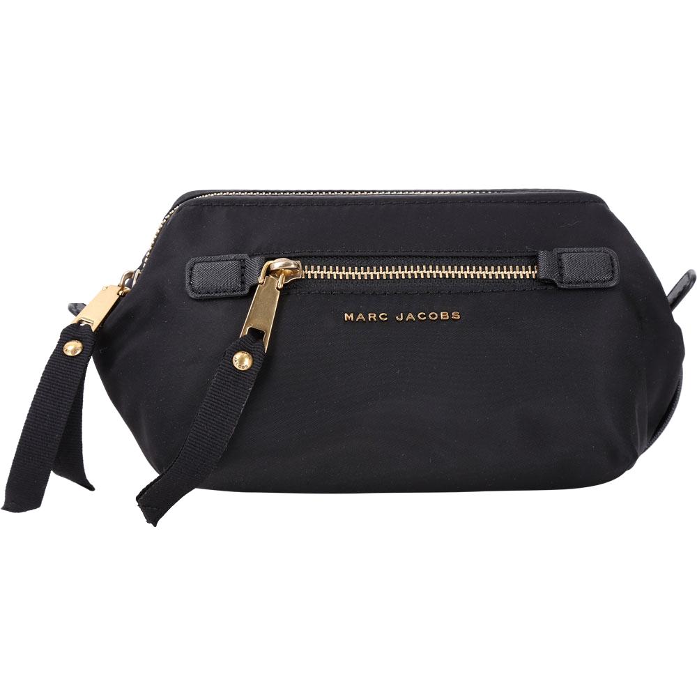 MARC JACOBS Trooper 前袋設計尼龍萬用化妝包(黑色) @ Y!購物