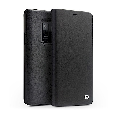 QIALINO SAMSUNG Galaxy S9+ 可立側翻皮套