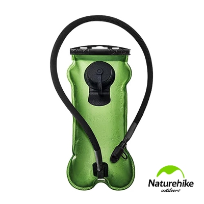 Naturehike攜帶型吸嘴飲水袋3L 綠色