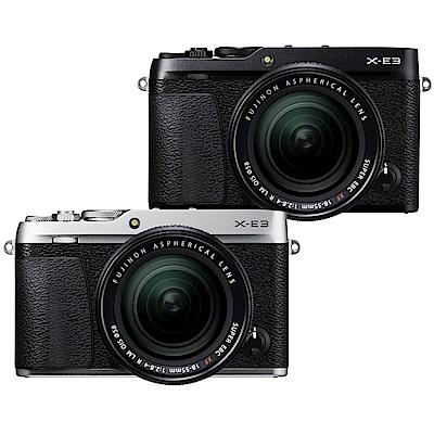 FUJIFILM X-E3+XF18-55mm 單鏡組-黑色*(平輸中文)