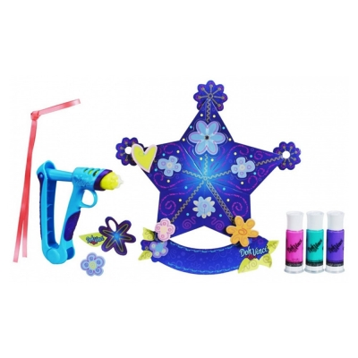 PlayDoh 培樂多 - 多紛奇混色星星裝飾 DIY 遊戲組+混色補充罐