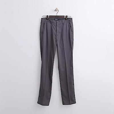 Hang Ten - 男裝 - 純色抗皺長褲-灰色