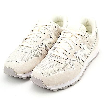 New Balance-女復古休閒鞋WR996WPB-米白