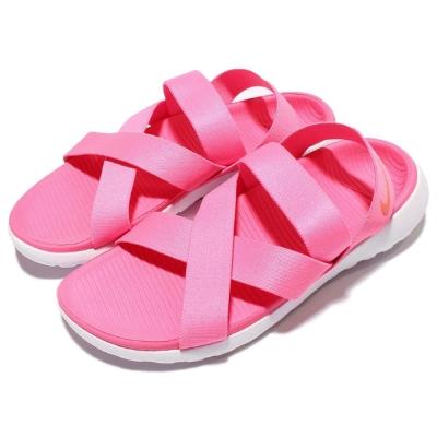 涼鞋Nike Wmns Roshe One休閒白粉紅女鞋