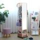 EASY HOME-實木多功能掛衣鏡附活動輪(原木色)-48x52x163.1cm product thumbnail 1