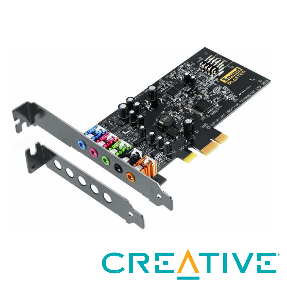 Creative  Sound Blaster Audigy Fx PCIE音效卡 product image 1