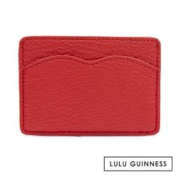 LULU GUINNESS RED CUPIDS BOW 卡片夾