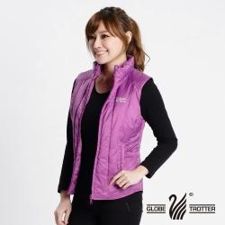 【遊遍天下】JIS90% 拒水羽絨防風防潑水羽絨背心G0316粉紫