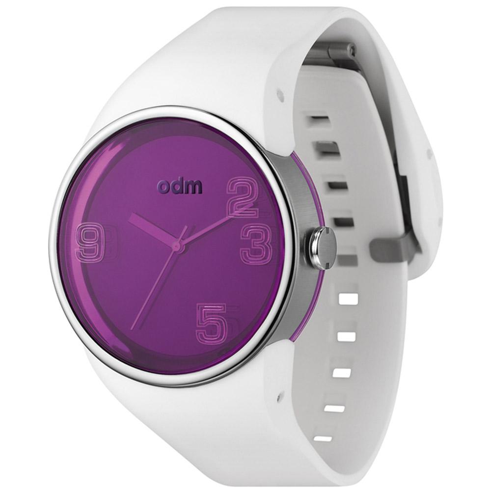 o.d.m. Blink 愛不釋眼繽紛腕錶-紫x白/38mm