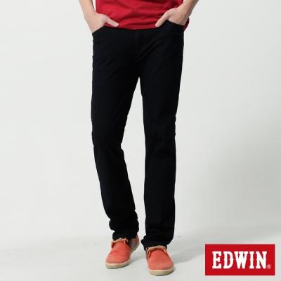 EDWIN 中直筒 迦績褲JERSEYS針織牛仔褲-男-原藍色