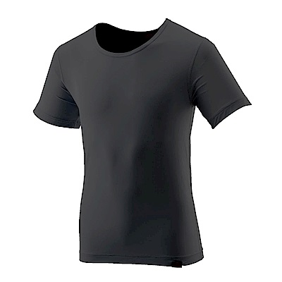 【Wildland 荒野】男TACTEL短袖排汗內衣-黑