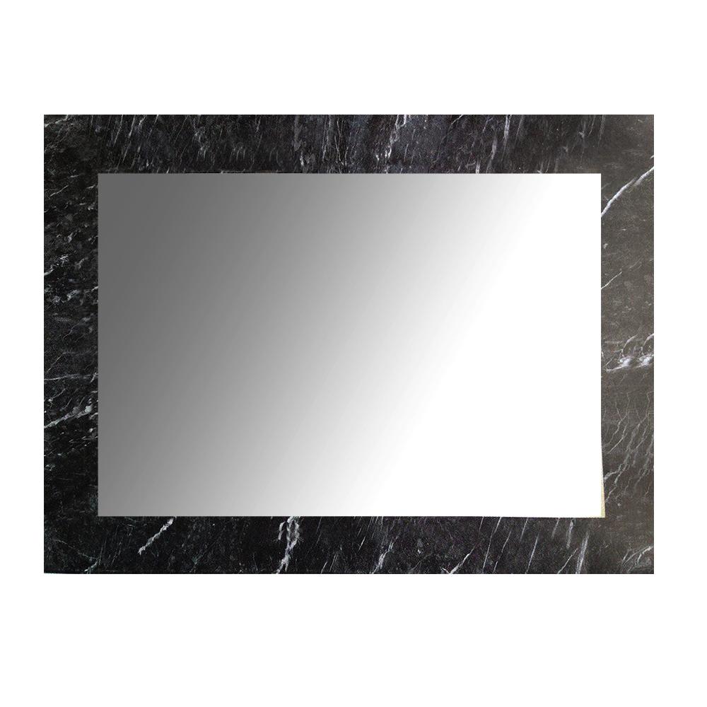 【愛麗絲仙鏡】膠合鏡-黑曜石大理石紋