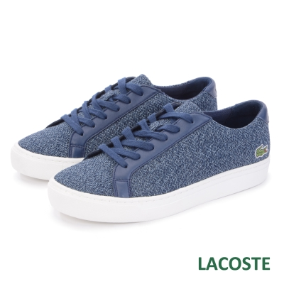 LACOSTE 女用運動休閒鞋-藍色