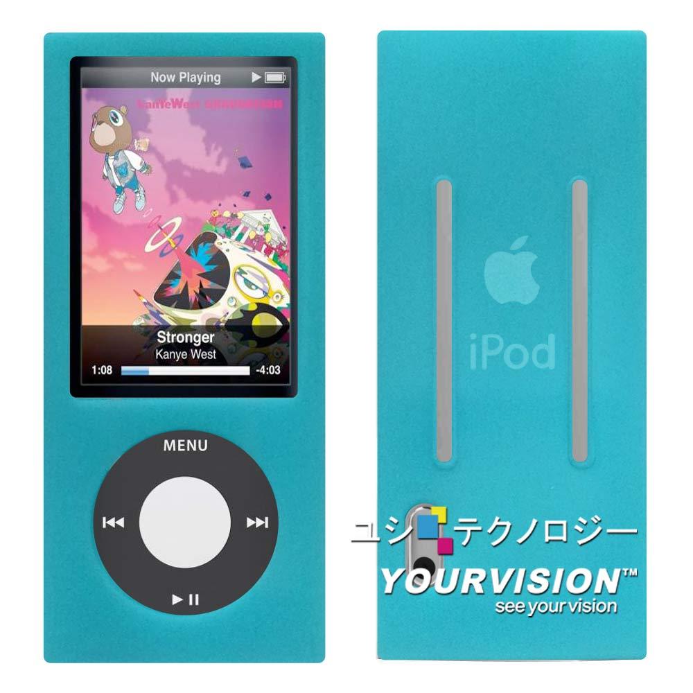 iPod 五代nano炫彩保護套(二入贈螢幕貼+轉盤膜)