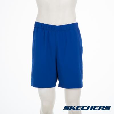 SKECHERS 男短褲 - LMSH19BLU
