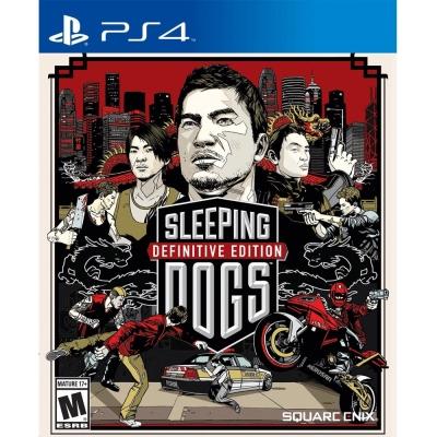 睡犬 決定版 Sleeping Dogs-PS4英文美版