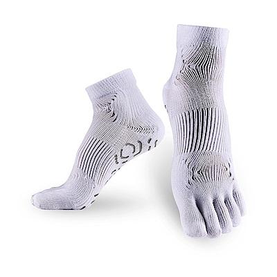【Titan】太肯五趾功能訓練襪_白_2雙(適合慢跑、健身房項目)