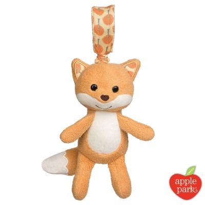 美國 Apple Park 手拉震動搖鈴玩偶 - 森林狐狸