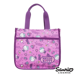 Hello Kitty 休閒潮流手提包-紫KT88B04PL