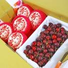 鮮果日誌 -美麗禮讚櫻桃禮盒(韓國新高梨5入+智利櫻桃2.5台斤)