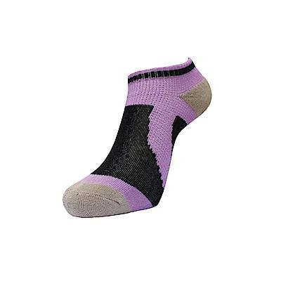 AREX SPOR 足弓支撐機能腳踏車襪-男-紫黑