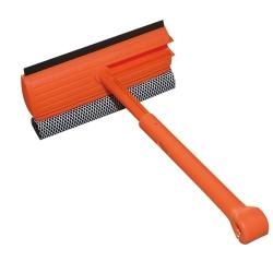 酷立潔 可伸縮摺合式雙效海綿窗刮-15吋玻璃清潔大掃除工具推薦