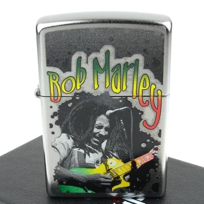 ZIPPO 美系~Bob Marley-雷鬼音樂教父圖案設計打火機