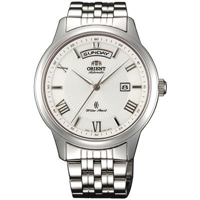 ORIENT 東方錶 WILD CALENDAR系列寬幅日曆機械錶(SEV0P002W)