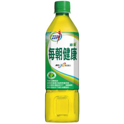 御茶園 每朝健康無糖綠茶(650mlx4入)
