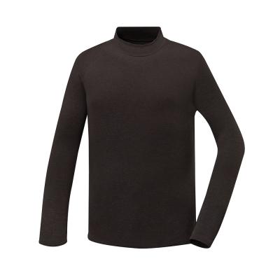 歐都納 男款熱流感立領保暖衣 發熱/抑菌/吸濕 A-U1612M 咖啡